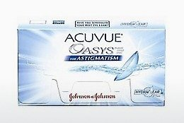 Kontaktní čočky Johnson & Johnson ACUVUE ADVANCE for ASTIGMATISM AGT-6P-REV