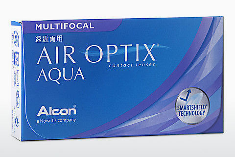 Kontaktní čočky Alcon AIR OPTIX AQUA MULTIFOCAL (AIR OPTIX AQUA MULTIFOCAL AOM6H)