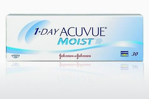 Kontaktní čočky Johnson & Johnson 1 DAY ACUVUE MOIST 1DM-90P-REV