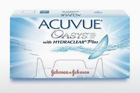 Kontaktní čočky Johnson & Johnson ACUVUE OASYS with HYDRACLEAR Plus PH-12P-REV