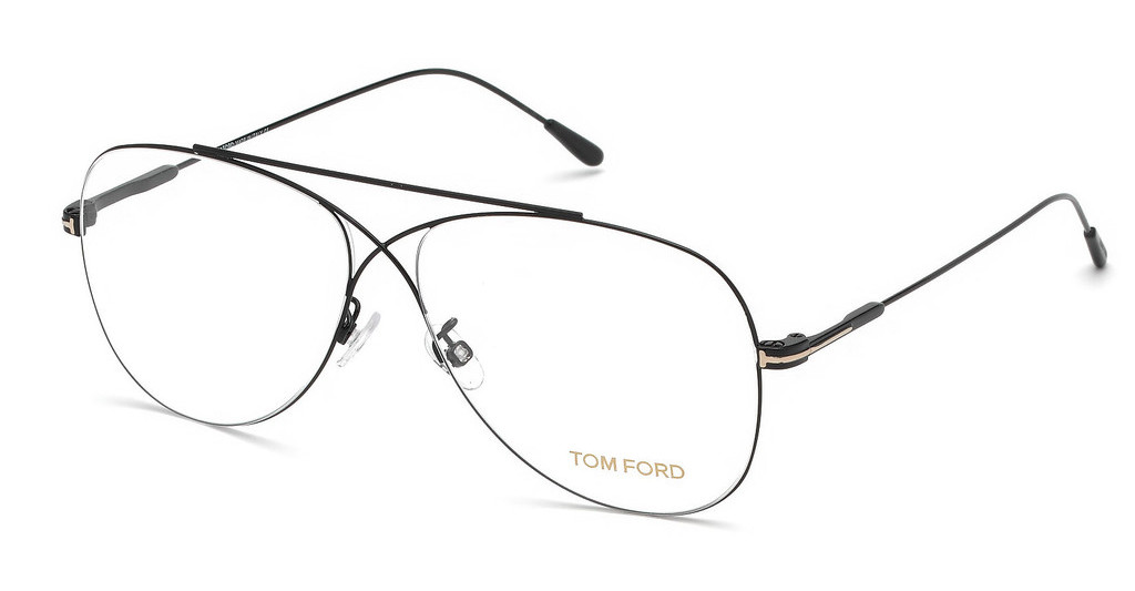 Tom Ford   FT5531 001 schwarz glanz
