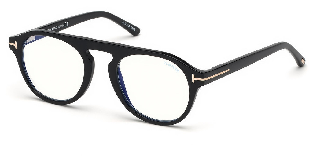 Tom Ford   FT5533-B 01V schwarz glanz