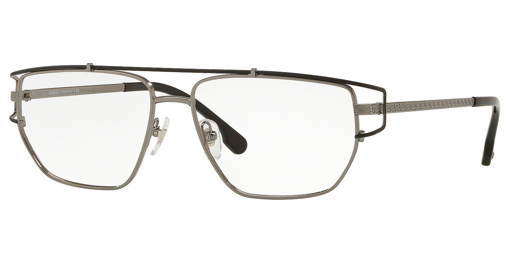Versace   VE1257 1256 GUNMETAL