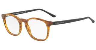 Giorgio Armani AR7074 5562 MATTE STRIPED LIGHT BROWN
