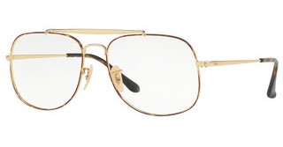 Ray-Ban RX6389 2945 GOLD ON TOP HAVANA