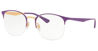 Ray-Ban RX6422 3045 TOP MATTE VIOLET ON SHINY GOLD