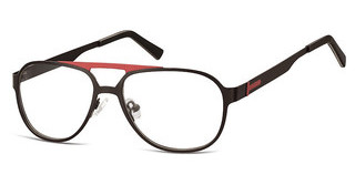 Sunoptic M4 C Matt Black/Dark Red