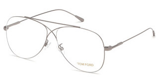 Tom Ford FT5531 014 ruthenium hell glanz