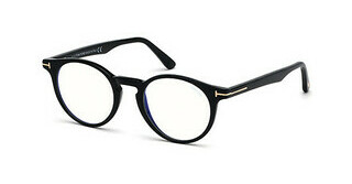Tom Ford FT5557-B 001 schwarz glanz