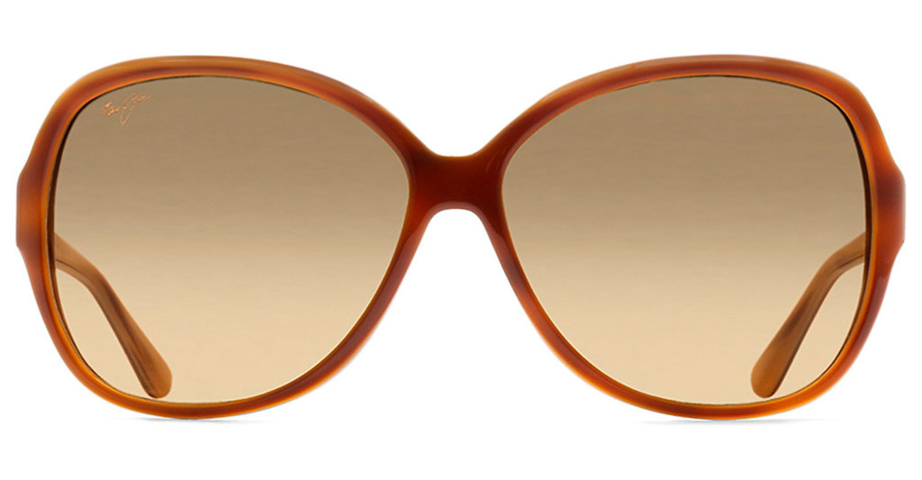Maui Jim   Maile HS294-10D HCL BronzeTortoise and Ivory Demi