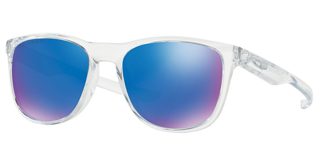 Oakley   OO9340 934005 SAPPHIRE IRIDIUM POLARIZEDPOLISHED CLEAR