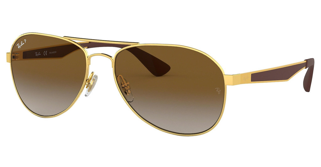 Ray-Ban   RB3549 001/T5 CLEAR GRADIENT GREENGOLD