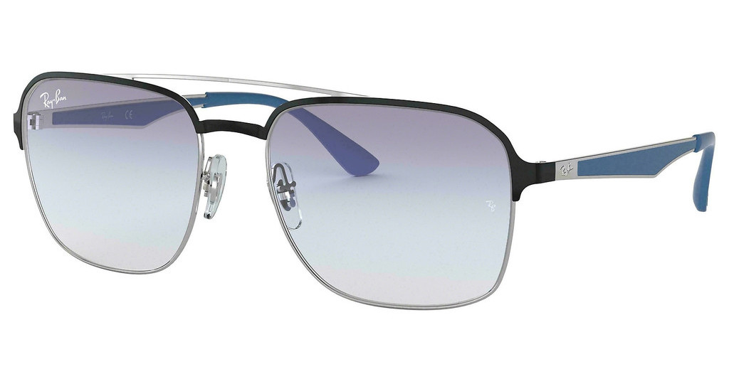Ray-Ban   RB3570 910919 CLEAR GRADIENT LIGHT BLUESILVER/BLACK