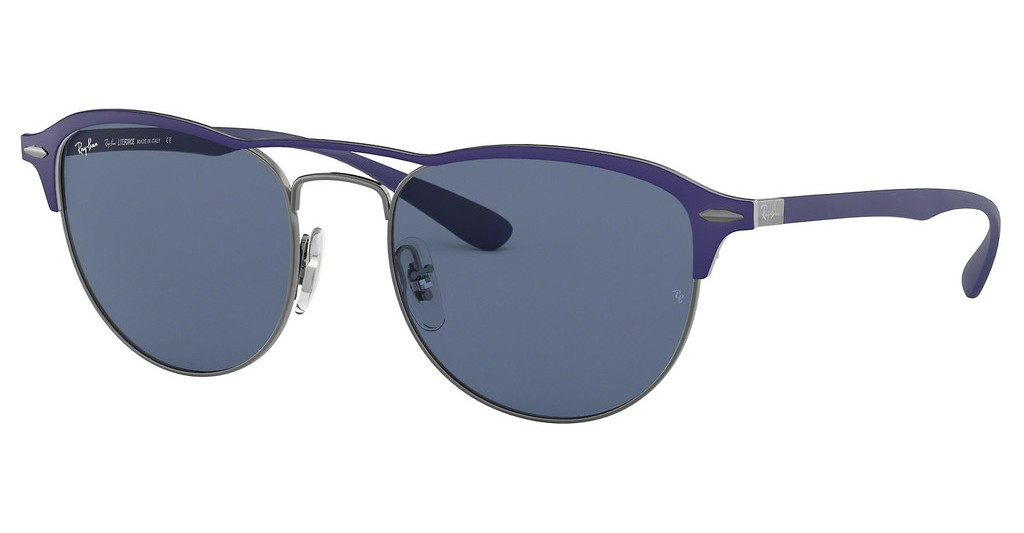 Ray-Ban   RB3596 900580 DARK BLUEGUNMETAL ON TOP MATTE BLUE