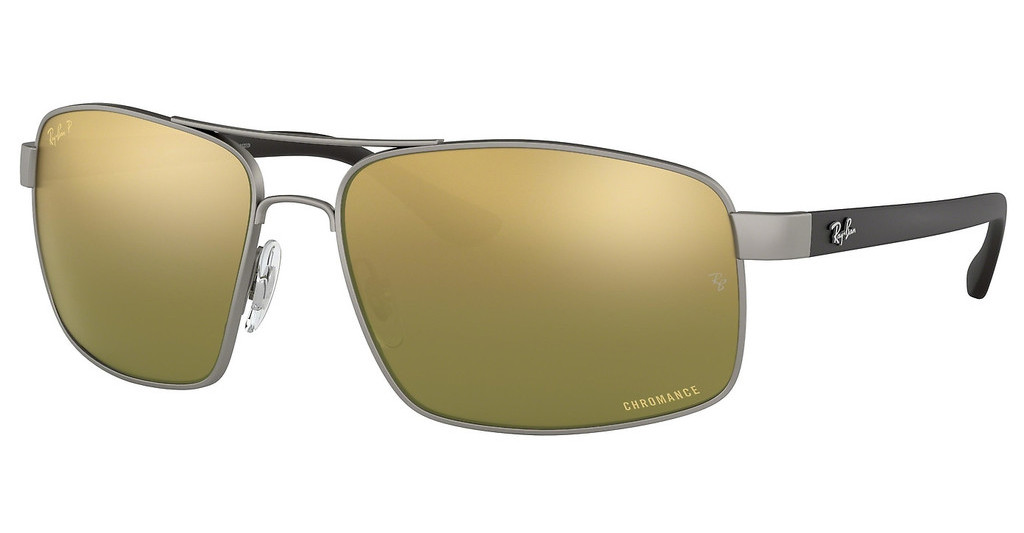 Ray-Ban   RB3604CH 029/6O GREEN MIR GOLD GRADIENT POLARMATTE GUNMETAL