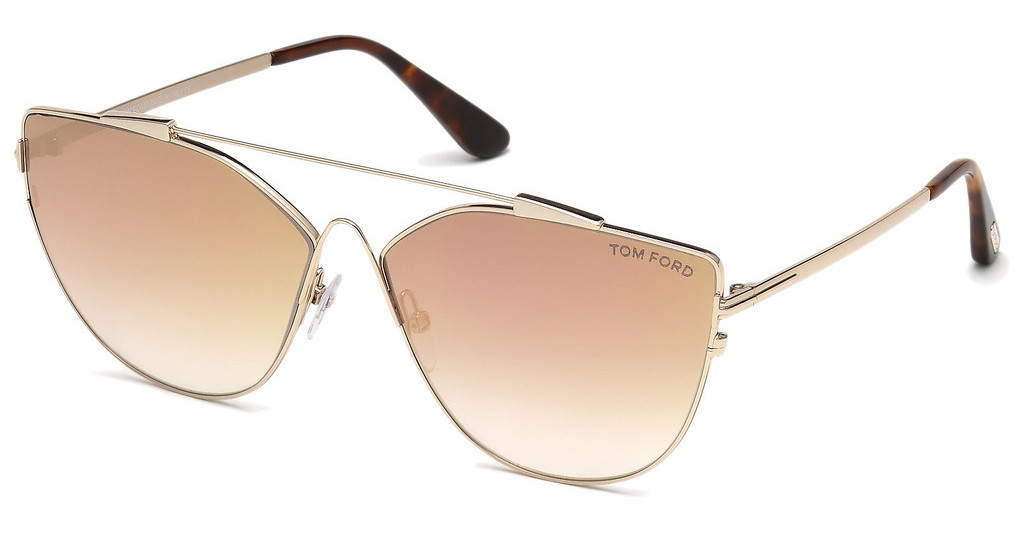Tom Ford   FT0563 33G braun verspiegeltgold