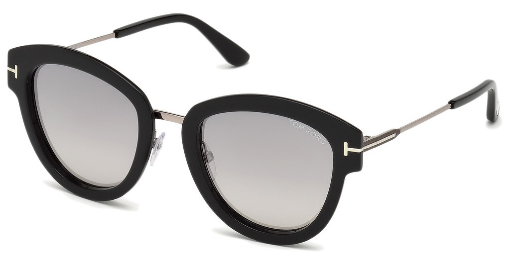 Tom Ford   FT0574 14C grau verspiegeltruthenium hell glanz