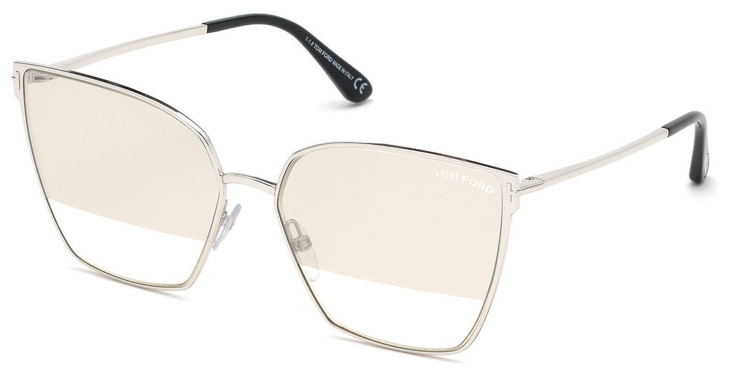 Tom Ford   FT0653 18C grau verspiegeltrhodium glanz