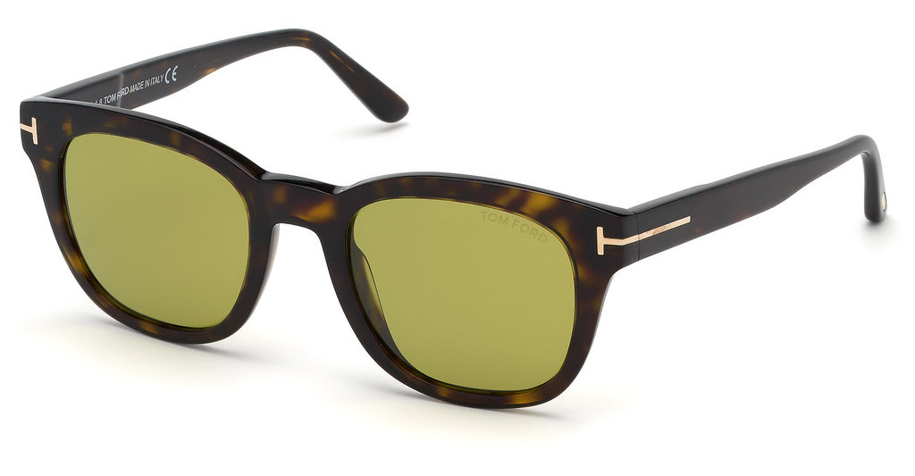 Tom Ford   FT0676 52N grünhavanna dunkel
