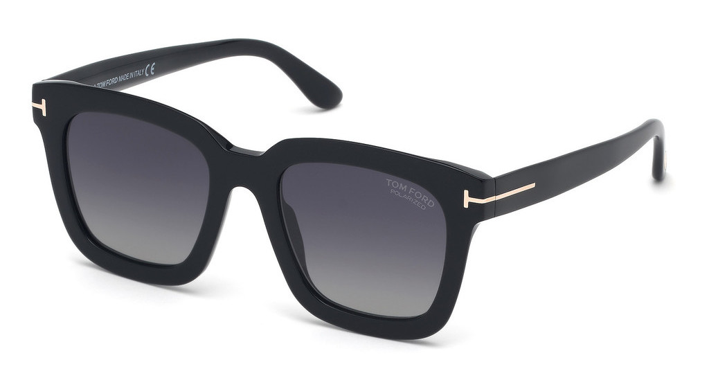 Tom Ford   FT0690 01D grau polarisierendschwarz glanz