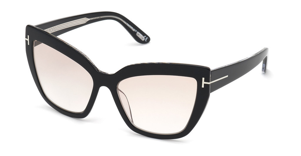Tom Ford   FT0745 01Z verspiegeltschwarz glanz