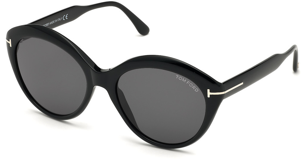 Tom Ford   FT0763 01A grauschwarz glanz