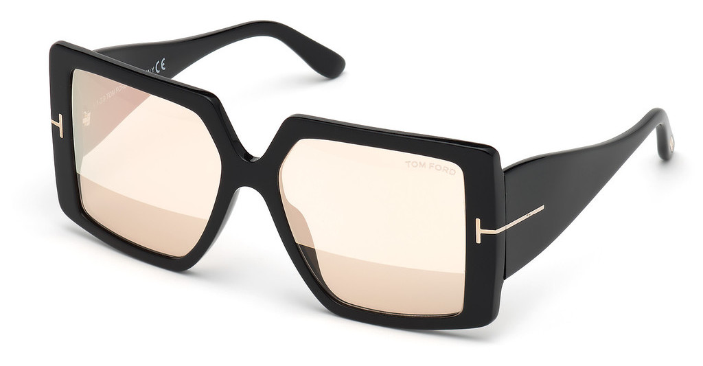 Tom Ford   FT0790 01Z verspiegeltschwarz glanz