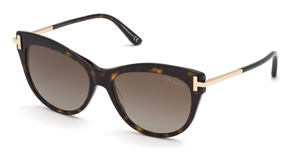 Tom Ford   FT0821 52H braun polarisierendhavanna dunkel
