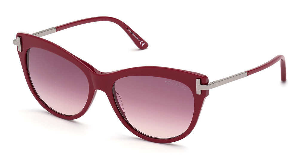 Tom Ford   FT0821 69T bordeaux verlaufendbordeaux glanz