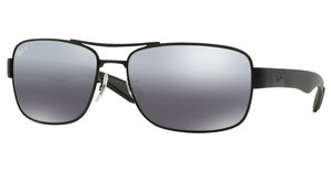 Ray-Ban RB3522 006/82 GREY MIRROR SILVER POLARMATTE BLACK