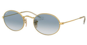 Ray-Ban RB3547N 001/3F CRYSTAL WHITE GRAD. BLUEARISTA