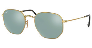 Ray-Ban RB3548N 001/30 GREY FLASHGOLD