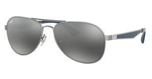 Ray-Ban RB3549 901288 MIRROR GRADIENT GREYMATTE GUNMETAL