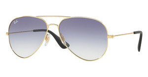 Ray-Ban RB3558 001/19 CLEAR GRADIENT LIGHT BLUEGOLD