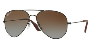 Ray-Ban RB3558 002/T5 LIGHT GREY GRADIENT BROWNBLACK