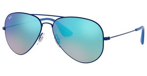 Ray-Ban RB3558 9016B7 MIRROR GRADIENT BLUEELETTRIC BLUE