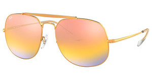 Ray-Ban RB3561 9001I1 GREEN MIRROR GOLD GRADIENT PINLIGHT BRONZE