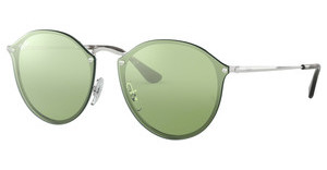 Ray-Ban RB3574N 003/30 DARK GREEN MIRROR SILVERSILVER