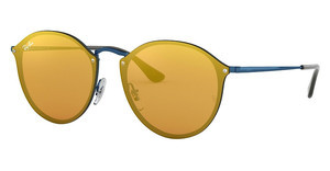 Ray-Ban RB3574N 90387J DARK ORANGE MIRROR GOLDBLUE