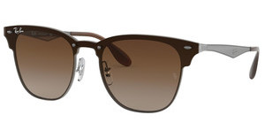 Ray-Ban RB3576N 041/13 BROWN GRADIENTGUNMETAL STRIPED