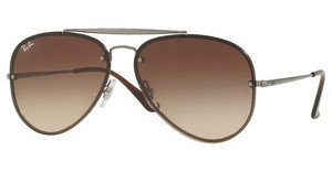 Ray-Ban RB3584N 004/13 BROWN GRADIENT DARK BROWNGUNMETAL