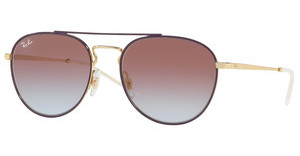 Ray-Ban RB3589 9059I8 LIGHT BLUE GRADIENT VIOLETGOLD TOP ON VIOLET