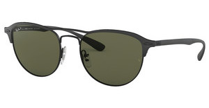 Ray-Ban RB3596 186/9A GREY GRADIENT DARK GREY POLARBLACK ON TOP MATTE BLACK