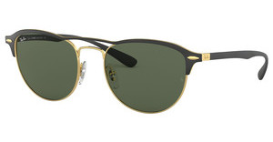 Ray-Ban RB3596 907671 DARK GREENGOLD TOP ON MATTE BLACK