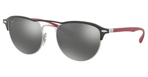 Ray-Ban RB3596 909188 GREY MIRROR SILVER GRADIENTSILVER ON TOP MATTE BLACK