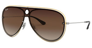 Ray-Ban RB3605N 909613 BROWN GRADIENT DARK BROWNSILVER/GOLD