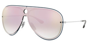 Ray-Ban RB3605N 91004Z GREY MIRROR YELLOW ROSEWHITE/PETROLEUM