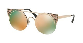 Bvlgari BV6088 20144Z GREY MIRROR ROSE GOLDPINK GOLD