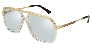 Gucci GG0200S 005 LIGHT BLUEYELLOW