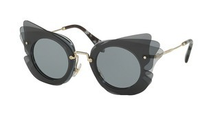 Miu Miu MU 02SS VA43C2 GREYDARK GREY/LIGHT GREY
